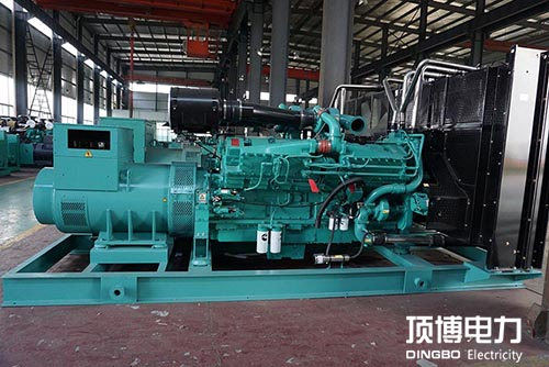 柴油发电机机体组件