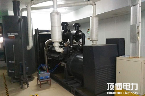 防城港市残疾人康复服务中心200KW柴油qy88千亿国际1台