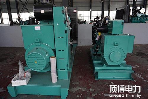 广西旺达房地产公司800KW柴油发电机2台