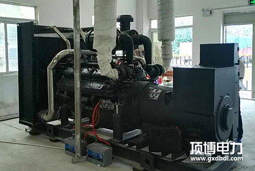 百色世纪金宸投资有限公司1台500KW上柴柴油qy88千亿国际