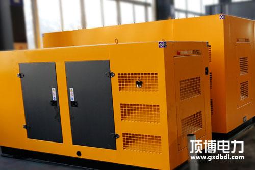 顶博电力静音柴油发电机保养维护