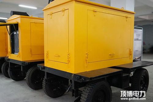 顶博电力移动拖车柴油发电机组展示