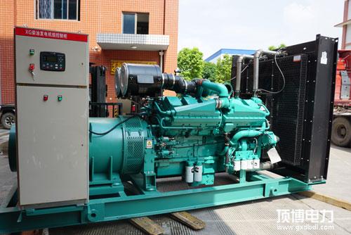 500kw康明斯柴油发电机组