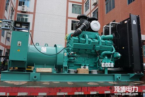南宁住房公积金管理中心工程350KW柴油发电机组