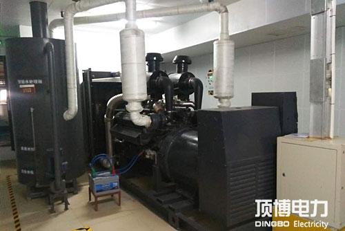 600kw上柴柴油机搭配马拉松发电机