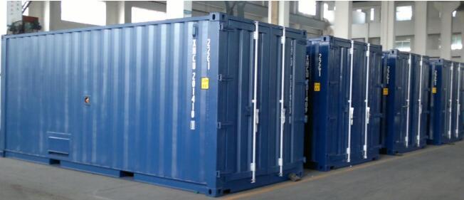 1500KW康明斯柴油发电机组装箱式