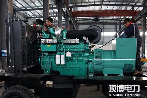 300KW柴油发电机组故障