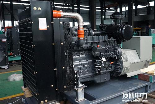柴油发电机组散热器展示