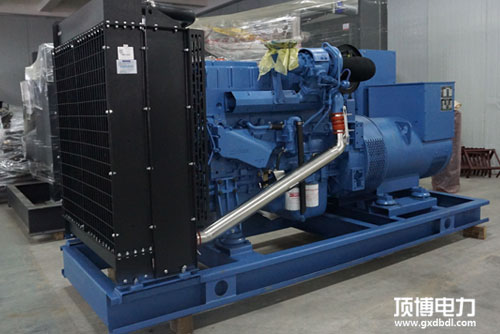 广西中久电力科技有限责任公司购买600KW玉柴柴油发电机组1台