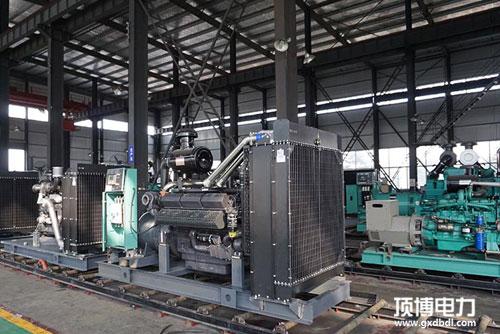 广西柴油发电机厂家仓库