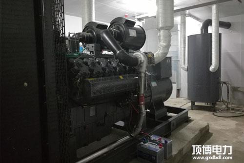 房地产500kw玉柴发电机组机房