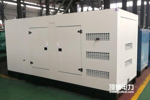 120kw静音柴油发电机组