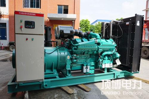 广西旺达房地产公司签订1000KW康明斯发电机