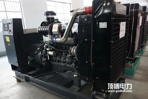 128kW上柴发电机组