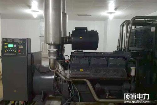 500kw广西玉柴发电机组漏水解决方法