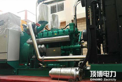柴油发电机排烟管安装