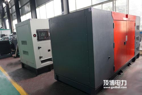 100千瓦柴油发电机冷却系统冷却强度调节
