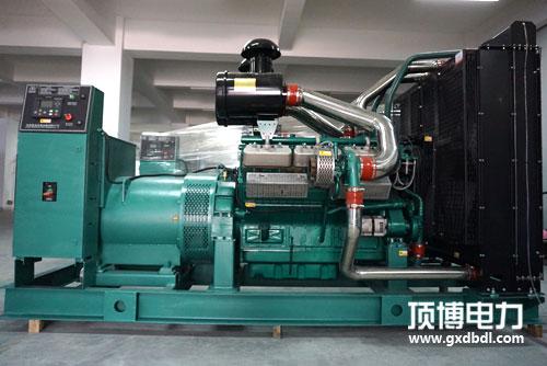 700千瓦上海乾能发电机组