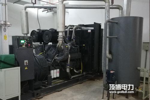 50KW柴油发电机组机房