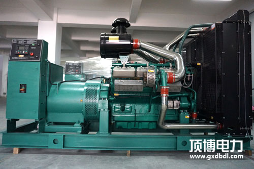 350KW上海乾能柴油发电机组