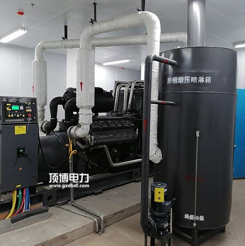 顶博电力柴油发电机组机房