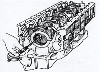 发电机主轴承座孔径的测量