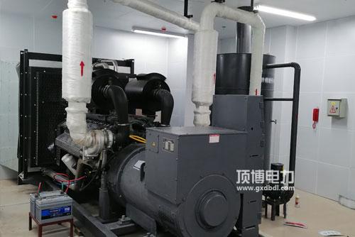 顶博电力设计柴油发电机组机房消防配置