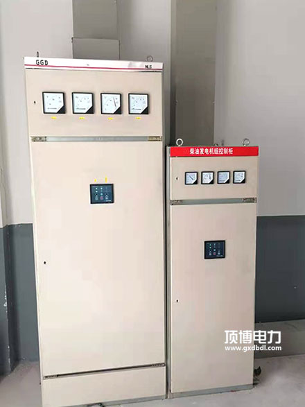 300KW柴油发电机组自动控制器