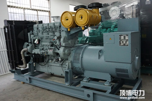 500KW三菱柴油发电机