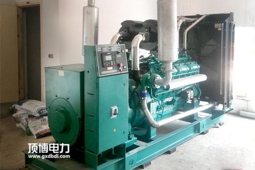 柴油发电机组降噪工程