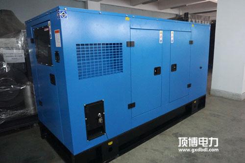 300KW静音柴油发电机组