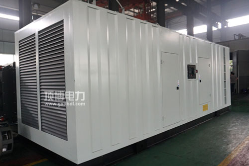 1000KW集装箱式静音柴油发电机组