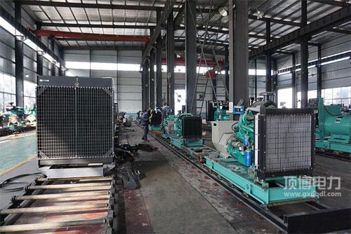 沃尔沃发电机组生产厂房亚搏娱乐中心