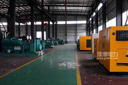 柴油发电机组生产厂房亚搏娱乐中心