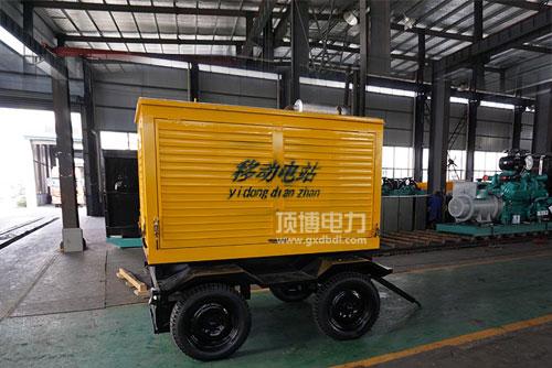 移动拖车式柴油发电机组