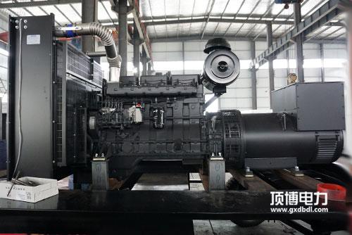 发电机组机油泵故障