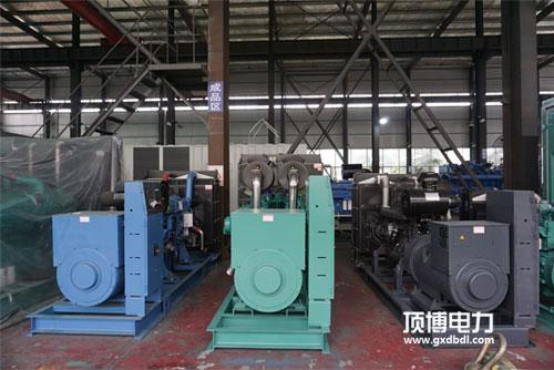 柴油发电机组厂房展示