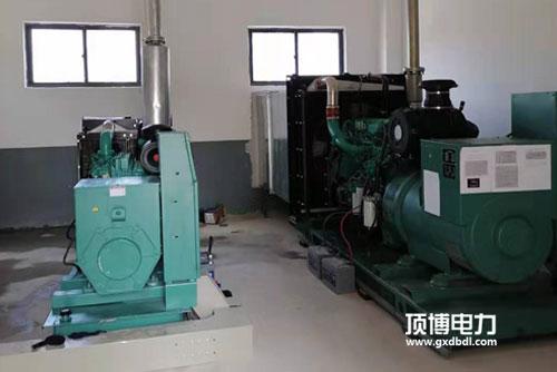 柴油发电机组常见的凸轮轴轴向定位方法