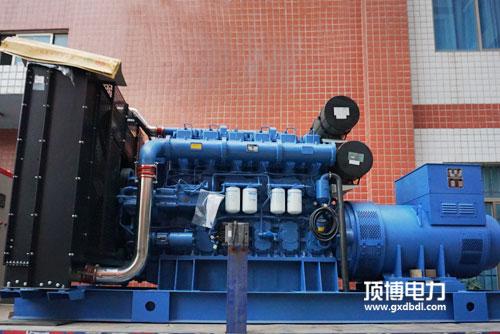 250千瓦柴油发电机组电压不稳定或过低原因是什么?