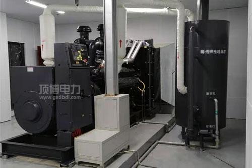柴油发电机组机房