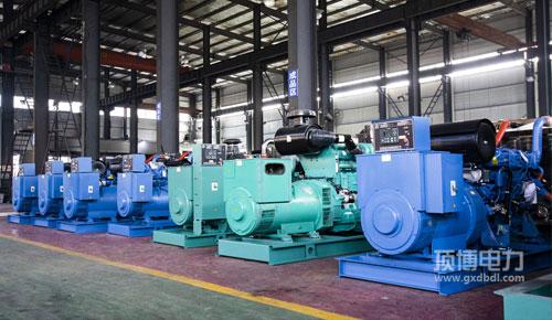 柴油發電機组生产车间
