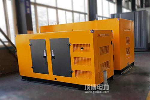 热烈祝贺南宁和平医药有限公司订购防雨棚100KW玉柴发电机组