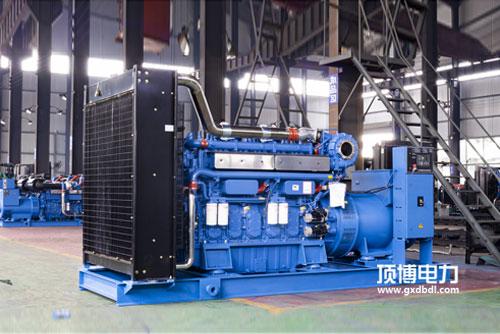 顶博电力生产150KW玉柴发电机组被北海市第二建筑工程公司订购