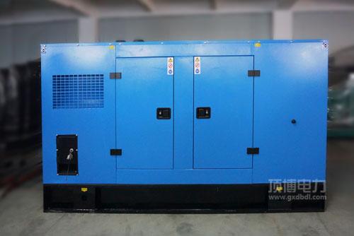 150KW移动静音式玉柴发电机组,市政工程施工用