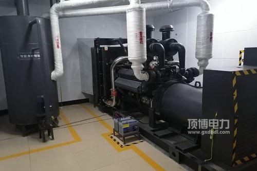上柴500KW柴油发电机组