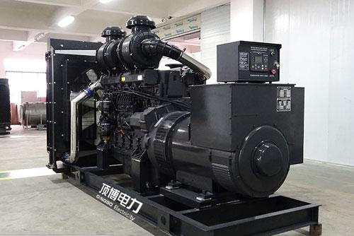 200千瓦上柴柴油机发电机组调速器的作用