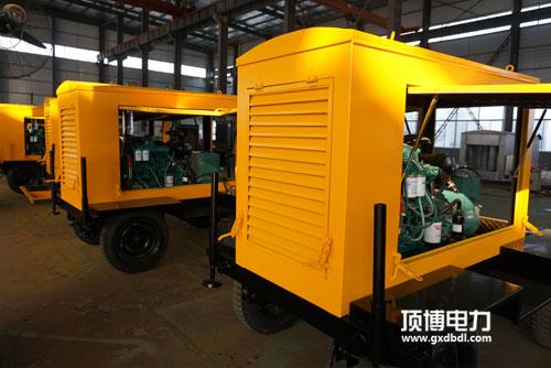 移动拖车式柴油发电机